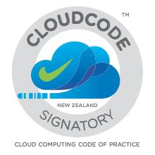 NZ Cloud Code of Practice Signatory